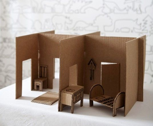 pin there use creative many ways packaging innovation bookshelf cardboard are to