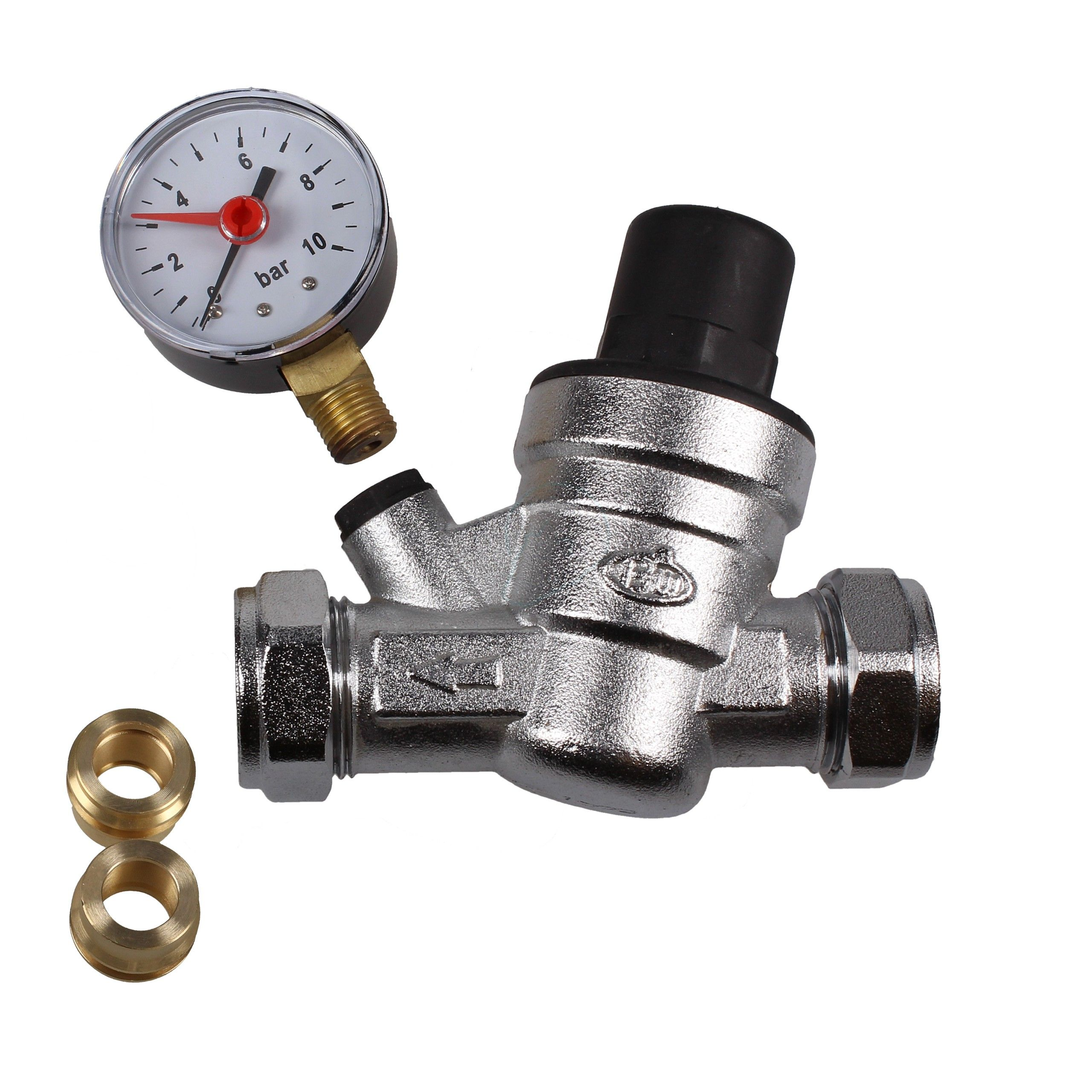 Pressure Reducing Valve Hot water, Valve