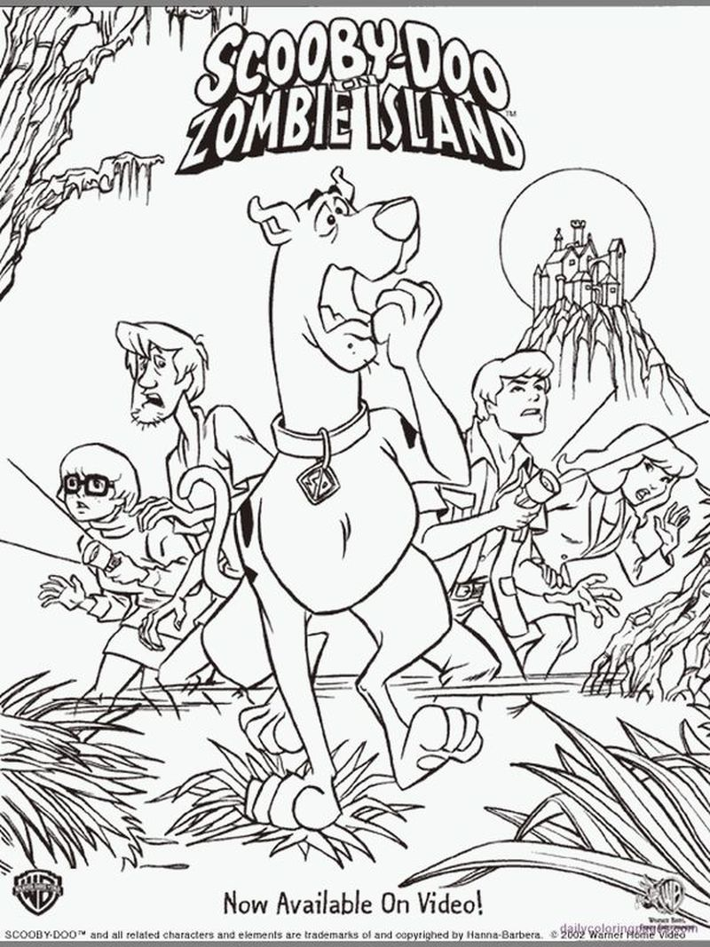 Scooby Doo And Scrappy Doo Coloring Pages Scooby Doo Coloring Pages Cartoon Coloring Pages Monster Coloring Pages