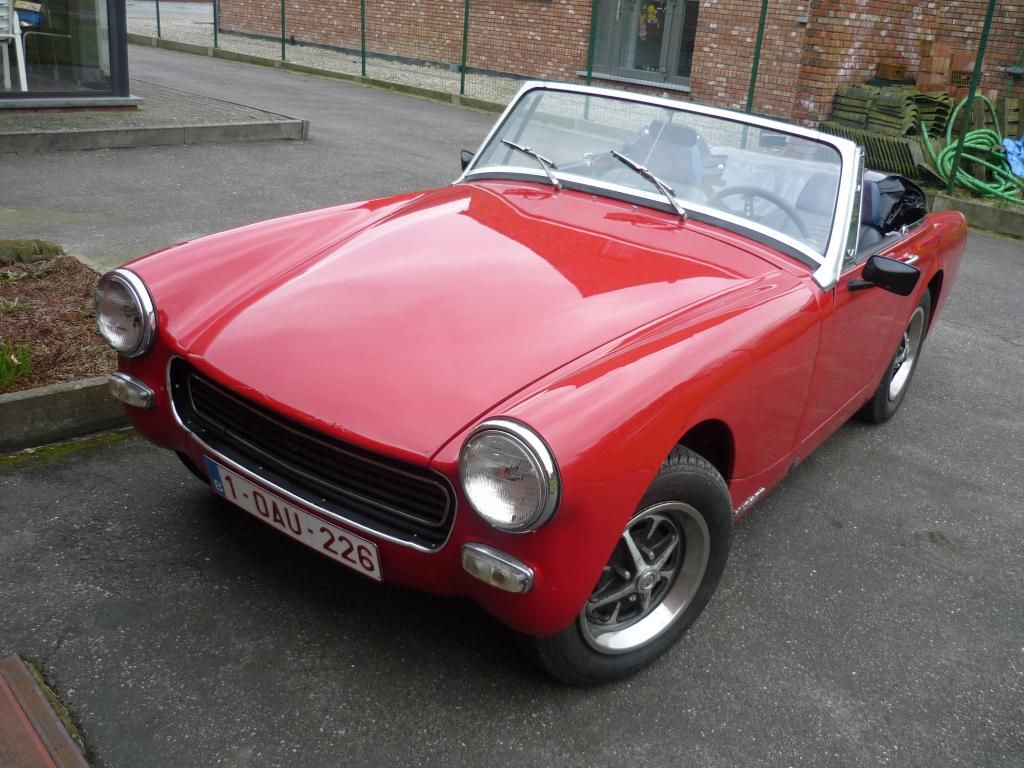 medium resolution of 1972 mg midget rwa 1275 from belgium mg midget forum mg
