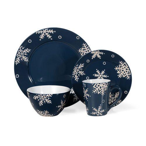 Pfaltzgraff® Everyday Snow Flurry Dinnerware Set, 48 Piece