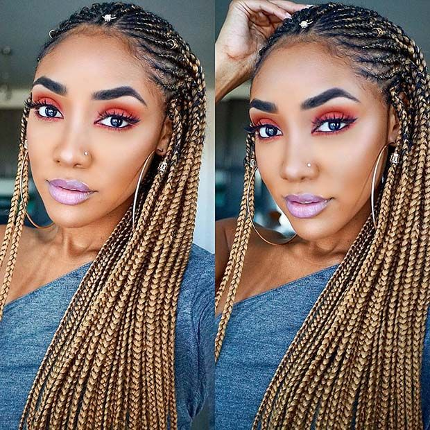 25 Hot Fulani Braids To Copy This Summer Stayglam Hairstyles
