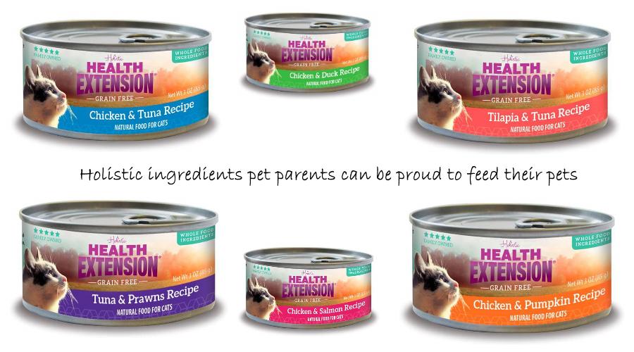 Health Extension Pet Care Dog Cat Food Grain Free Cat Food Holistic Recipes Healthy Pet Food