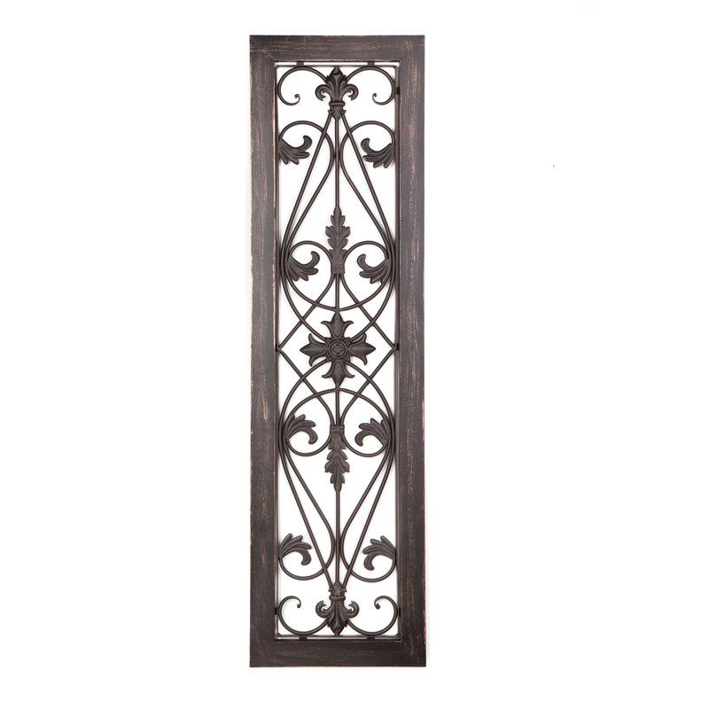 Rectangular Wall Du00e9cor By Byron Anthony Home Industrial Wall Decor Gate Wall Decor Compass Wall Decor