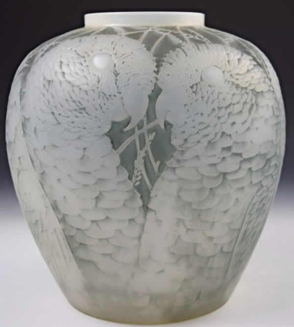 R Lalique Vase Alicante Ren Lalique Pinterest Alicante
