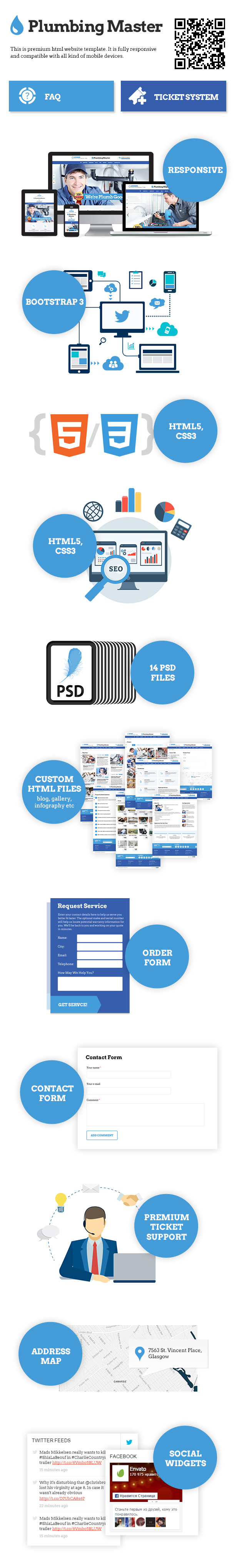 Plumbing Master Website Templates Pinterest Template And Website - Html website code template