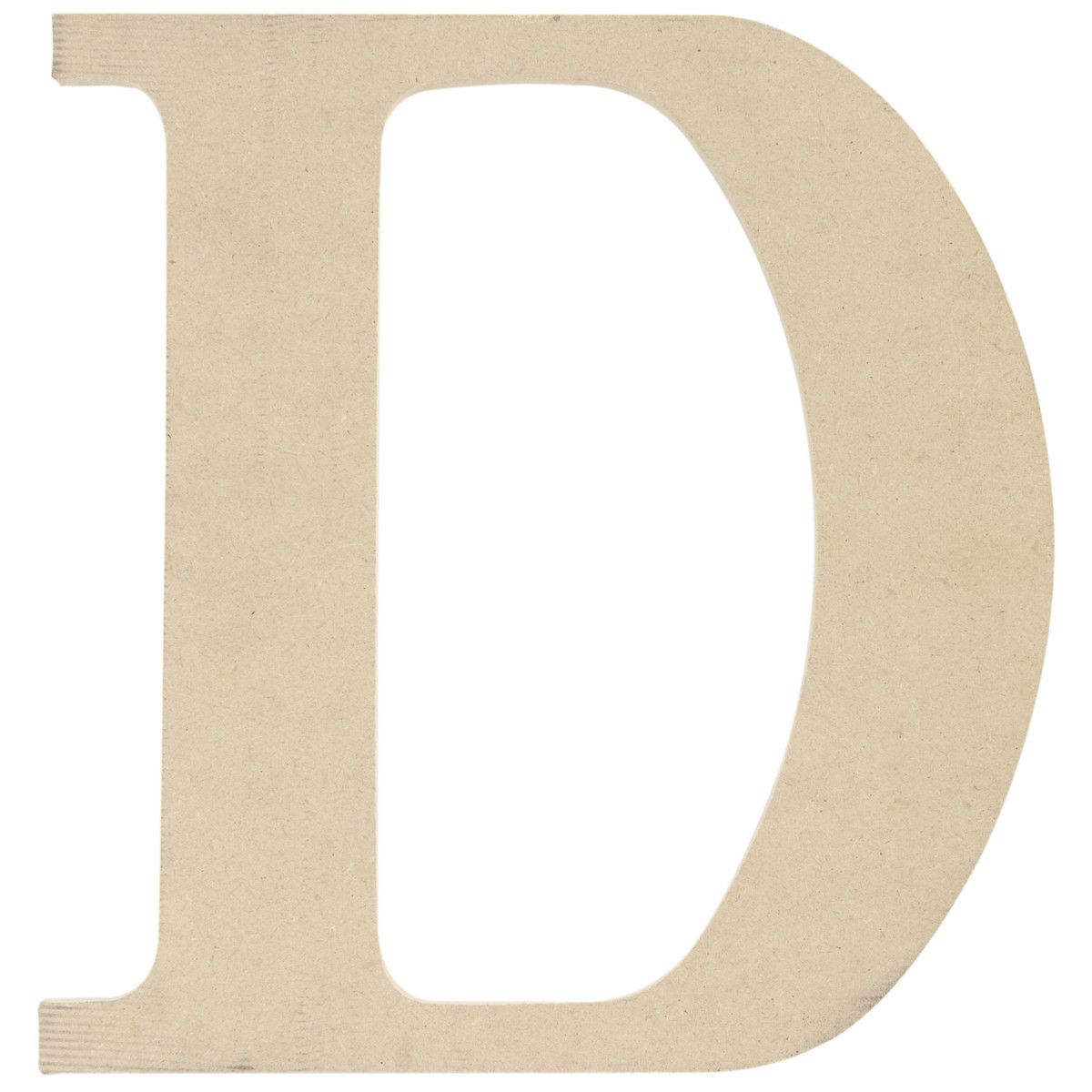 MDF Classic Font Wood Letters, Numbers & Symbols - D