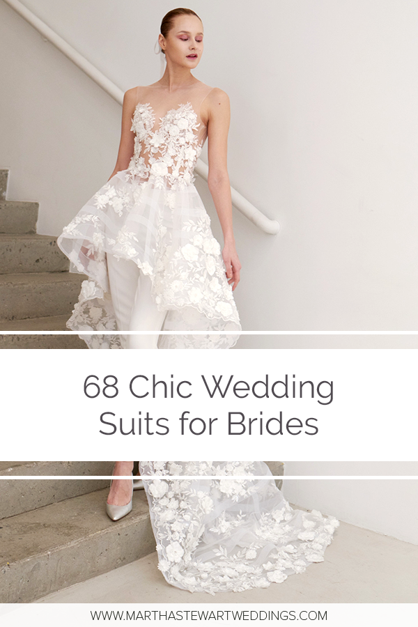 71 Chic Wedding Suits For Brides Wedding Suits For Bride White