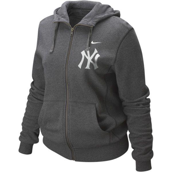 new styles bfb18 aa182 Nike Bling MLB Yankees Women's Yankee Hoodie- I could live ...
