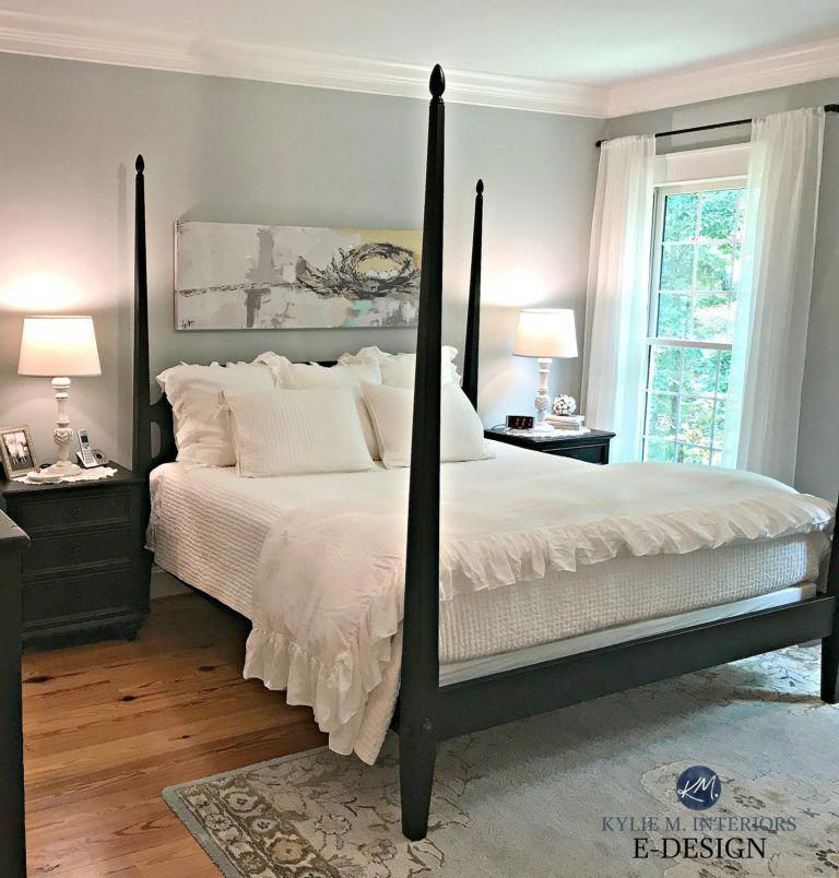 Benjamin Moore Arctic Gray Best Blue Paint Colour Master Bedroom