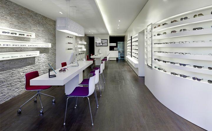 Optical / Eyeware Stores on Pinterest   Store Interiors