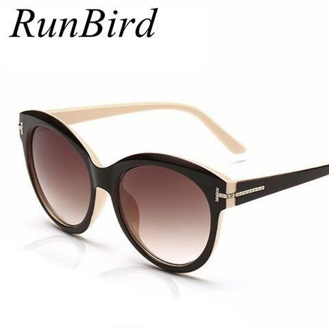 332d134c63b RunBird High Brand Designer Vintage Cat Eye Sunglasses Women Tom Sun Glasses  Men Shades Feminino Oculos De Sol UV400 R165
