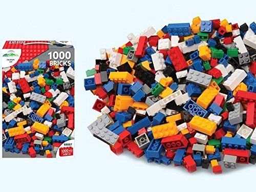 M.Y 1000 Building Bricks Construction Building Blocks Play Set COMPATIBLE NEW