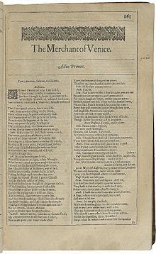 The Merchant of Venice - Wikipedia, the free encyclopedia
