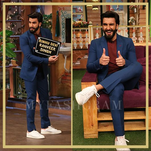 Ranveer Singh, The Kapil Sharma Show, Befikre Promotions, MyFashgram
