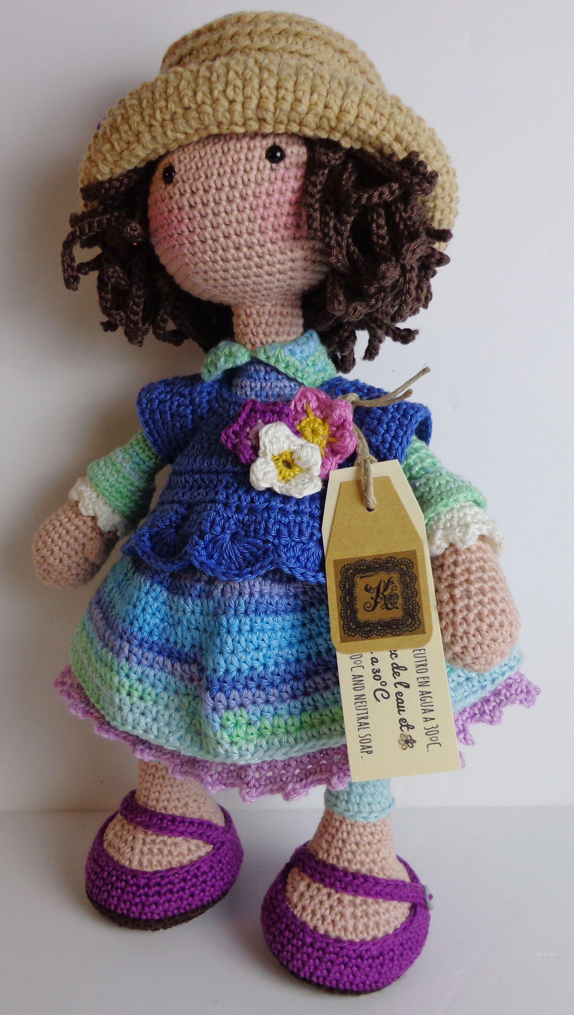 muñeca de ganchillo | Patrones | Pinterest | Ganchillo, Muñecas y ...