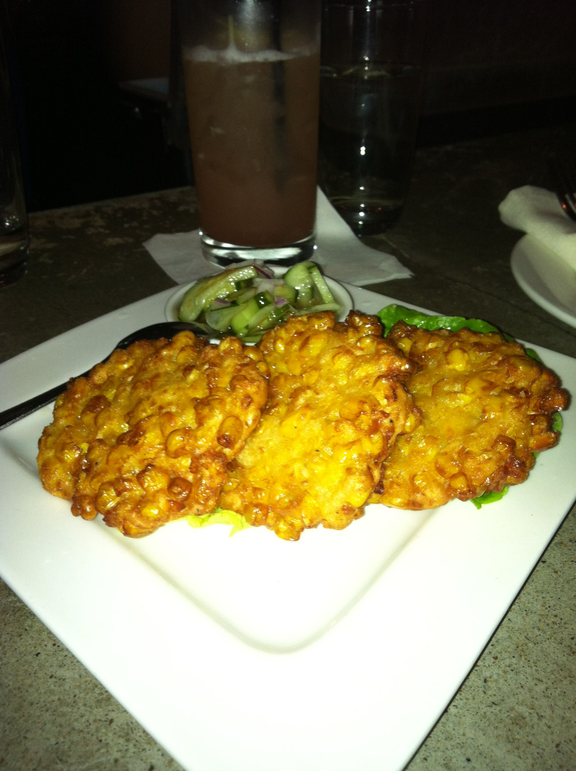 Crispy corn fritters from soi 4 in oakland ca i never