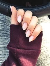 Almond   Easy Spring Nail Designs for Short Nails #artideas #Hair #Hairstyle #Ha…