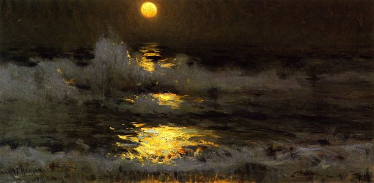 Moonlight on the Waters - Frank W. Benson