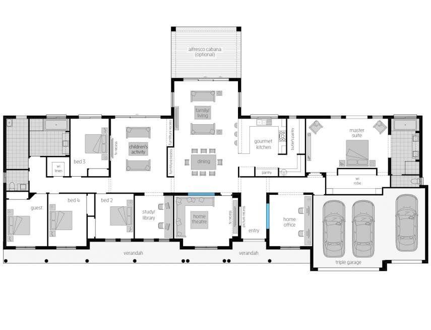 House Plans Desain Rumah Rumah Desain