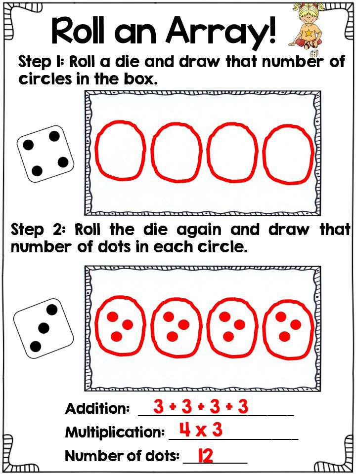 image result for multiplication arrays 6th grade math math multiplication math classroom. Black Bedroom Furniture Sets. Home Design Ideas