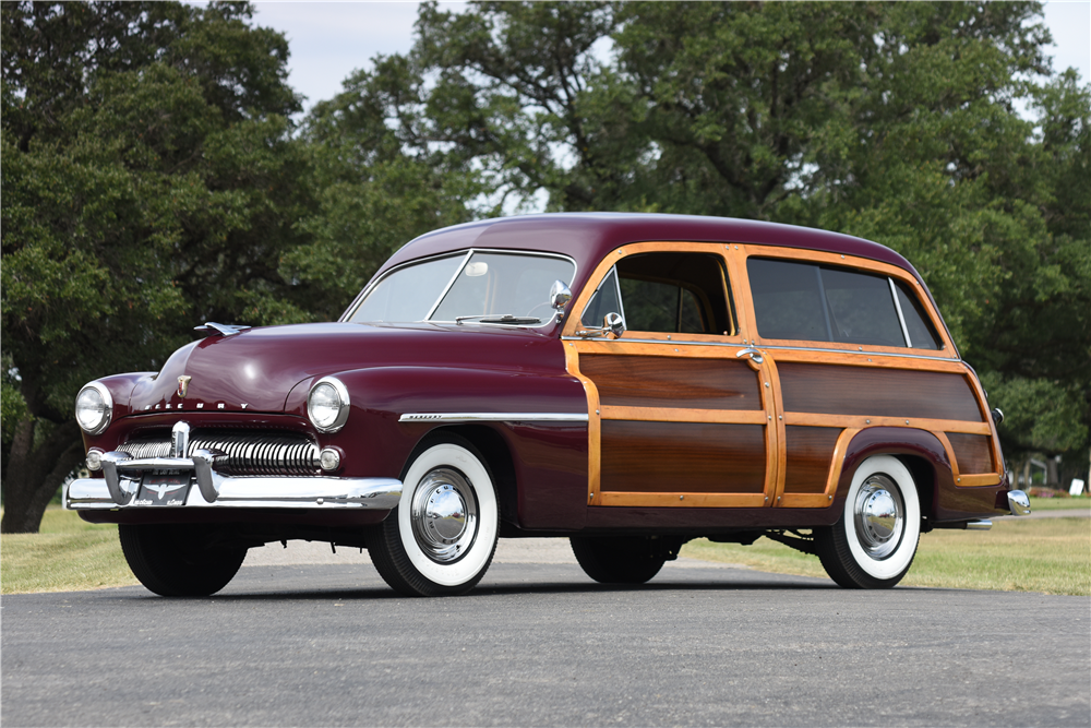 Sold* at Scottsdale 2017 - Lot #1022.1 1949 MERCURY WOODY WAGON ...