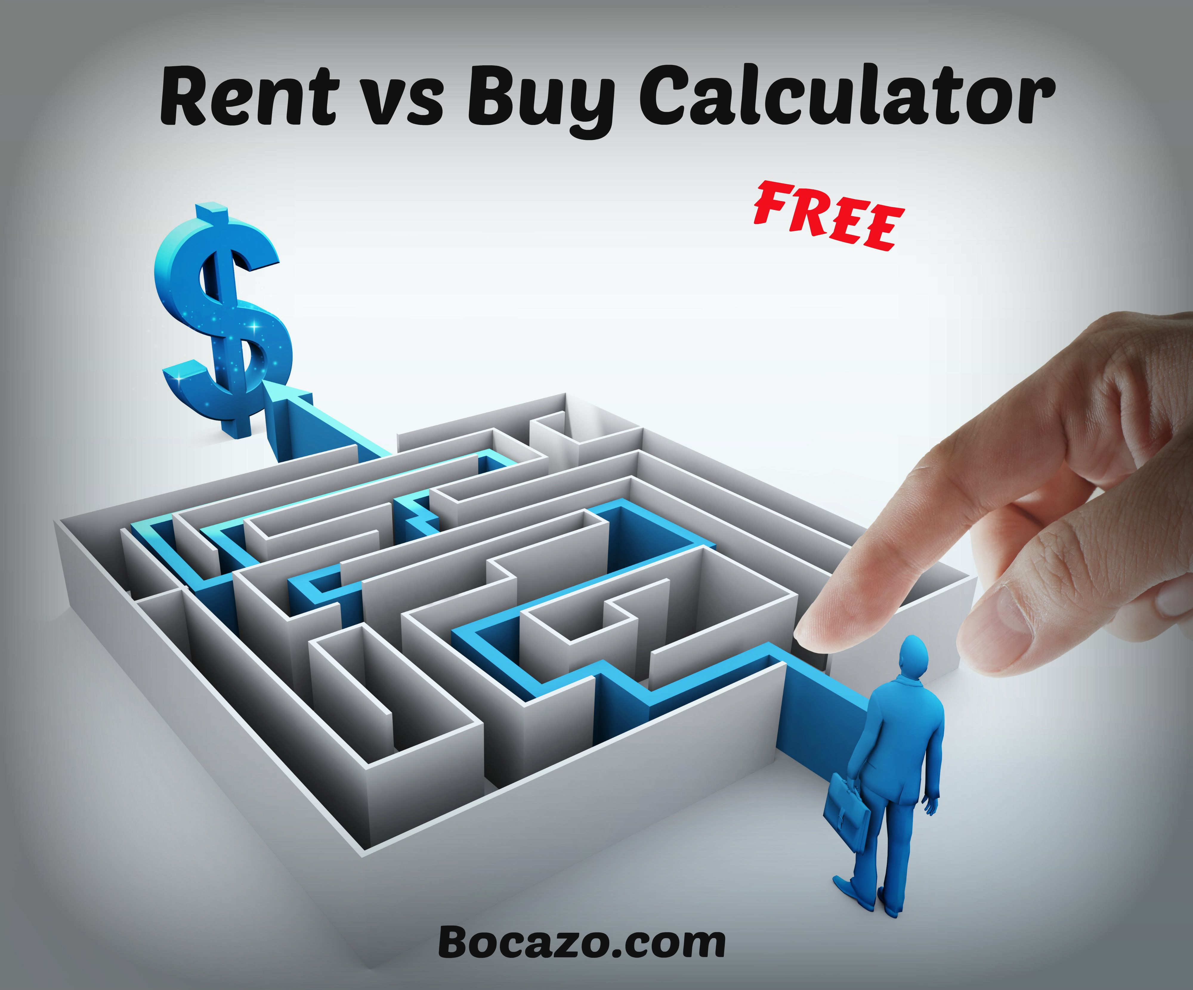 FREE Rent Vs Buy Calculator This calculator will help you