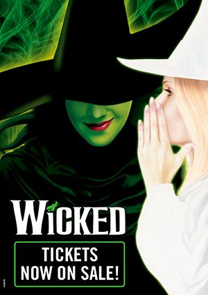 Tickets to see Wicked at Mayflower, would also really like to see this!!!