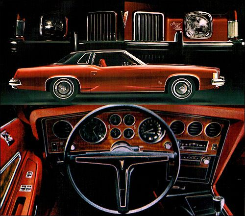 Pontiac 1973 Grand Prix Tyl Jpg 500 441 Pontiac Grand Prix Pontiac Classic Cars