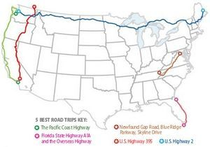 5 Best Road Trips Pacific Coast Highway Florida State Highway