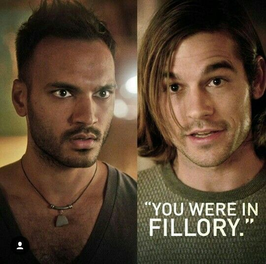 You were in Fillory.