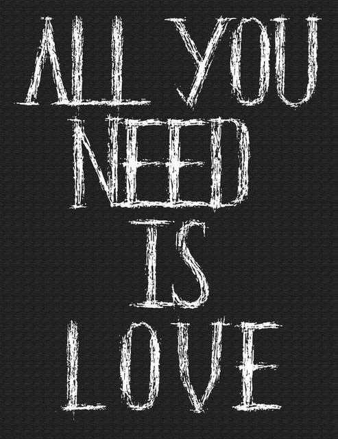 Typography Print FREE Download Black and White - All You Need is Love - Home Decor Wall Decor Minimalist Art Modern Art Office Art Printable by GCFPhotography on Etsy