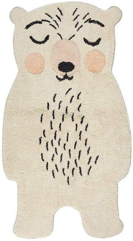 Nattiot Tappeto per Bambini, Motivo Orso Amazon.it