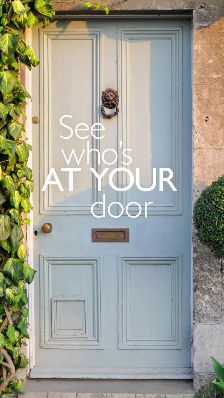 Google Nest Hello Video Doorbell Painted front doors