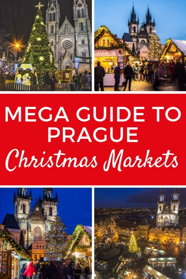 Prague Christmas Market MEGA Guide 2020 A Very Merry
