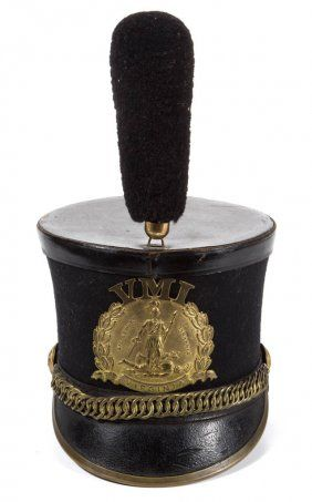 c5dc60a0b91b VIRGINIA MILITARY INSTITUTE / VMI SHAKO CAP   VMI   Military dresses ...