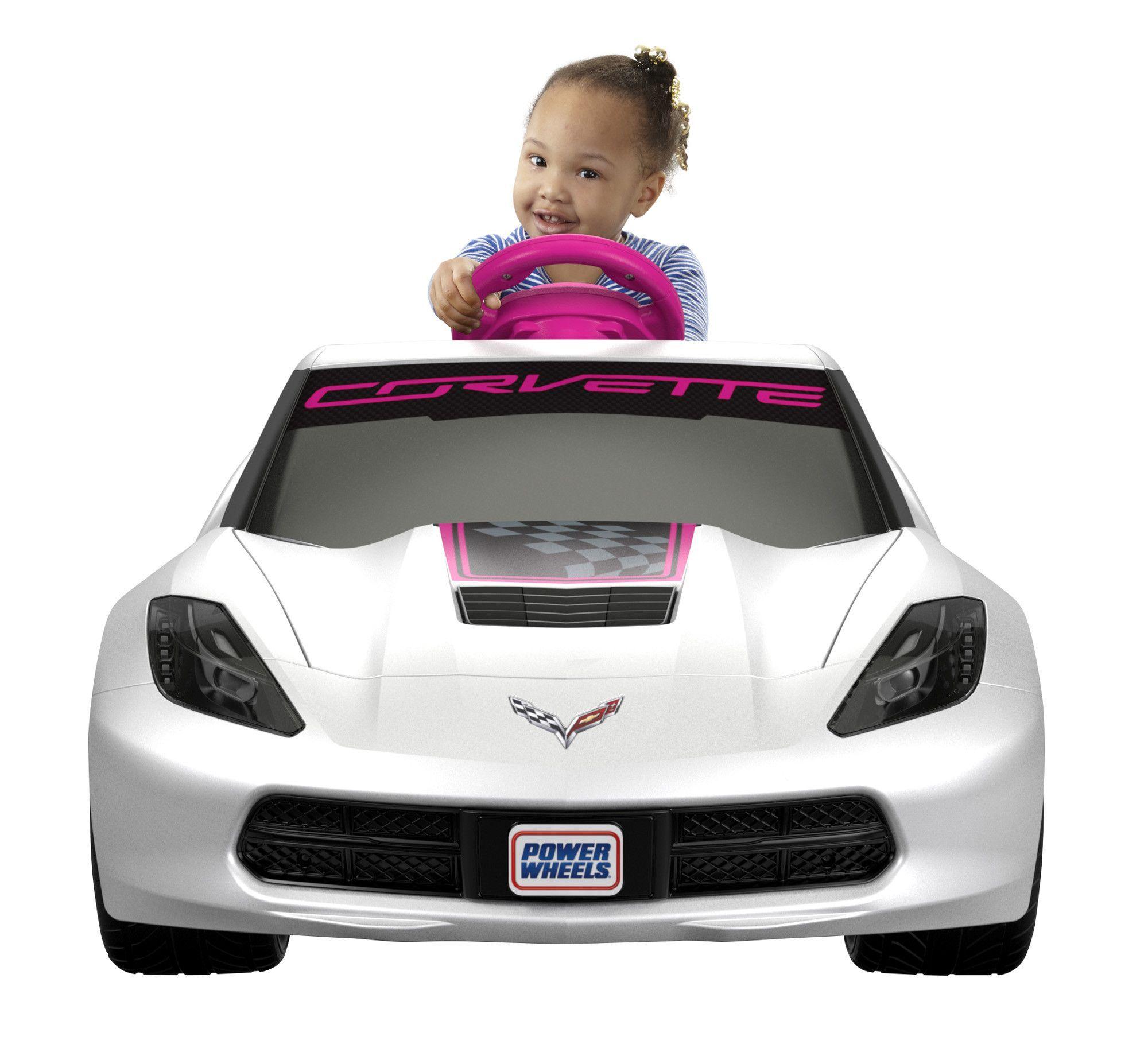 Wheels S Corvette 6v Battery Ed Ride On