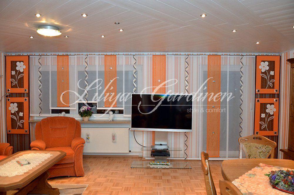 wohnzimmer gardinen liliya gardinen pinterest. Black Bedroom Furniture Sets. Home Design Ideas