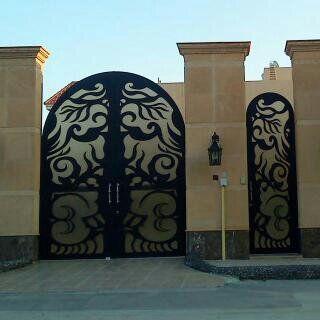 باب حديد خارجي قص ليزر Entrance Door Design Steel External Doors Steel Doors