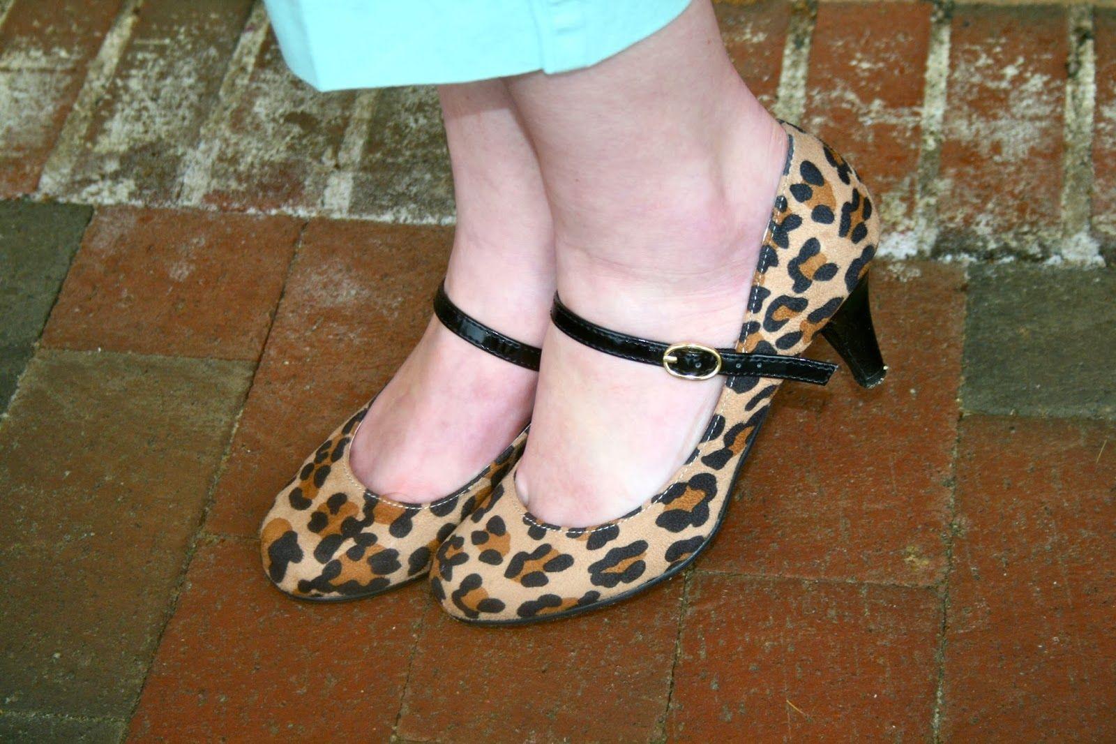 Kat's Fashion Fix: Minty Leopard