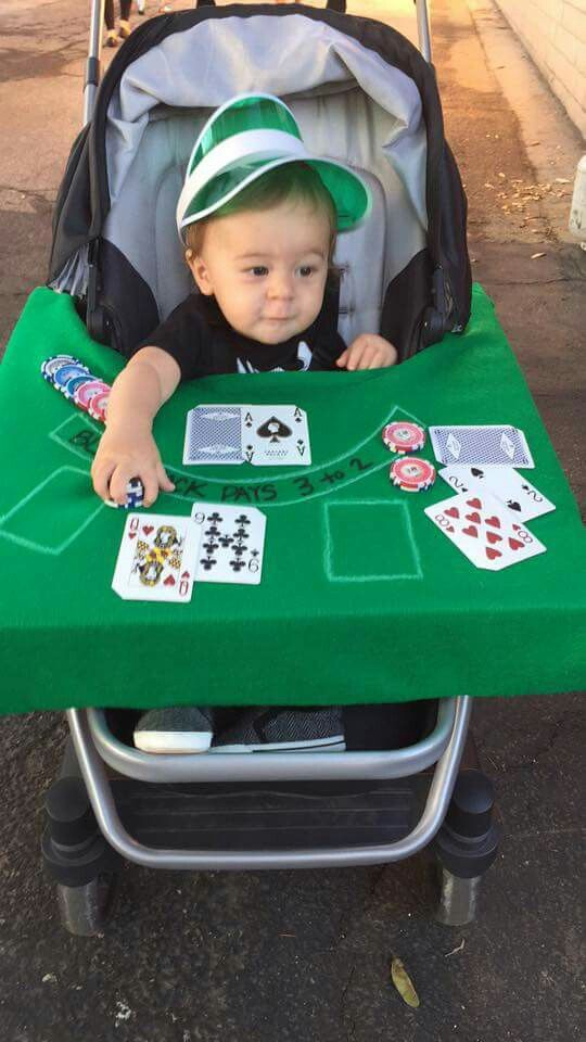 My Cousin Is A Professional Poker Player So It Makers Sense To Dress Up His Son As A Blackjack Dealer Dinners For Kids Healthy Meals For Kids Printables Kids