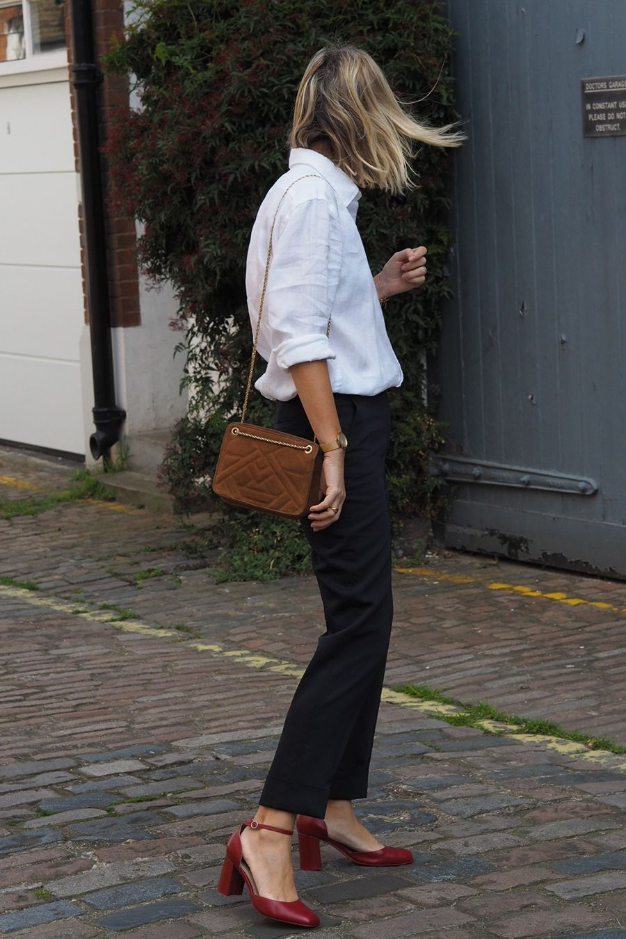 Blog de moda y lifestyle fall business casual white shirt outfits