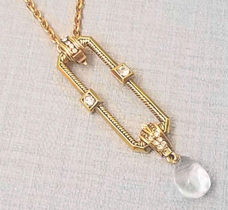 collier perle vintage scherrer