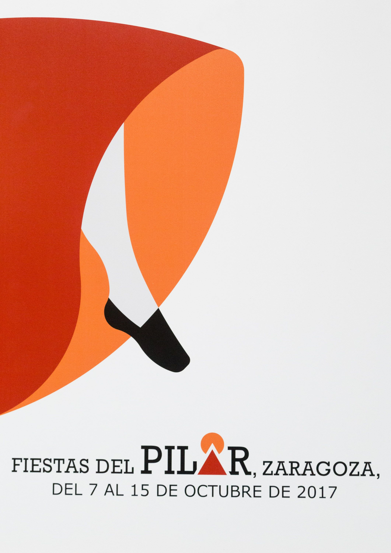 Ayuntamiento De Zaragoza Noticias A La J Jota Es El Título Del Cartel Ganador De Las Fiestas Del Pilar 2017 Cartel Carteles De Fiesta Zaragoza