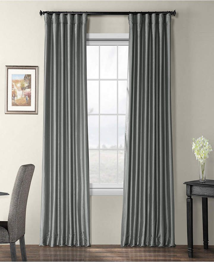 Blackout Taffeta 50 X 108 Curtain Panel Products In 2019 Panel