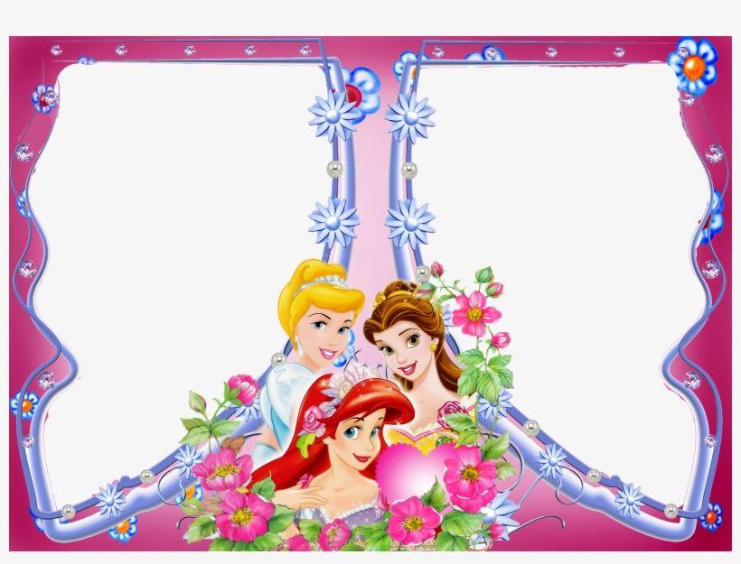 Download Disney Multi Photo Frame Disney Princess Frame Png Png Image For Free Search More High Qua Princess Frame Multi Photos Frame Disney Princess Babies