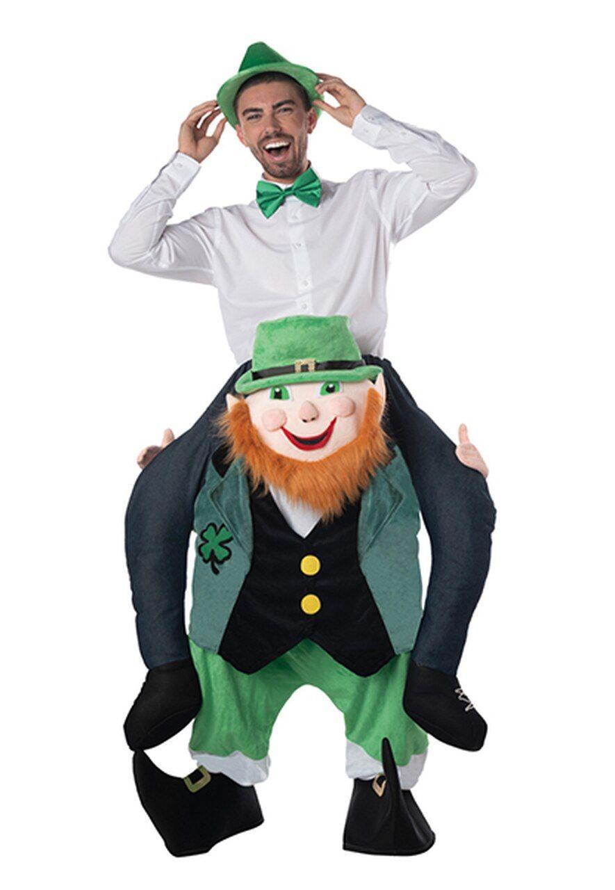 Adult carry me leprechaun costume carry affiliate