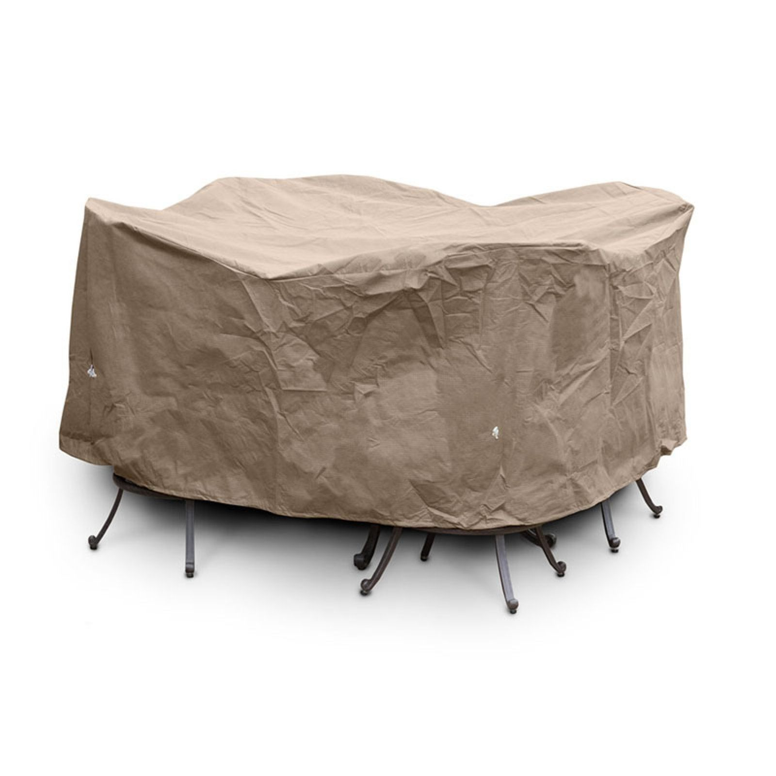 Koverroos Iii Taupe Bar Height Dining Cover
