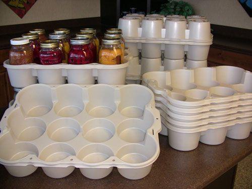 Canning Jar Storage