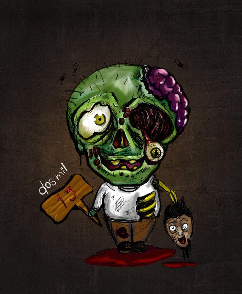 Cute Zombie By Zabraxxas On Deviantart Cute Zombie Zombie Cartoon Zombie Walk